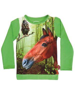 T-SHIRT HORSE/OWL